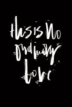 GIORGIAKAT.COM: NO ORDINARY LOVE / SADE / DEFTONES -  Lyrics - Quote - Typography Brush Lettering - Calligraphy - Graphic Design - Metallics