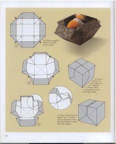 Origamis da Mary: Caixa Surpresa + Selinhos!