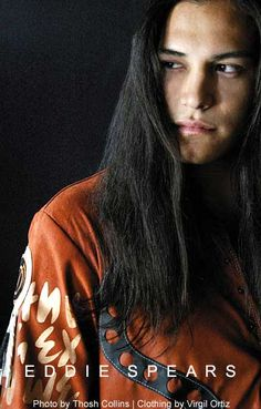 Hot Native American Men   Actor and model Eddie Spears. Glorious looking dude, he's of the ...