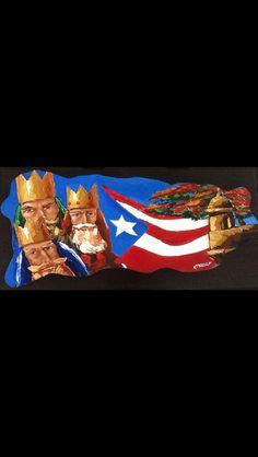 Reyes magos flamboyan y garita Puerto Rico