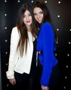 Kendall & Kylie   Kendall Jenner and Kylie Jenner visit Kardashian Khaos at The Mirage Hotel and Casino on December 15, 2012 in Las Vegas,