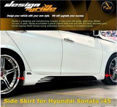 Hyundai i45 Sonata Side Skirt