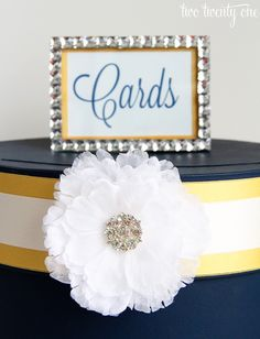 Wedding Card Boxes | ... wedding projects you can take on. This DIY wedding card box took me