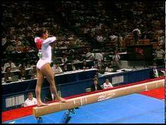 Mohini Bhardwaj - Balance Beam - 1996 Olympic Trials - Women - Day 2