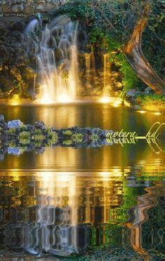 paisajes con reflejos en el agua en gif - Buscar con Google