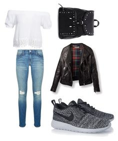 """Back to school"" by hibatje on Polyvore featuring mode, Boohoo, Rebecca Minkoff en NIKE"