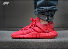 "Nike Huarache NM Red ""Rio"" + ""Hot Lava"".. available May 30"