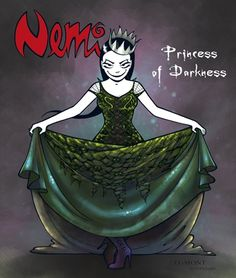 As Nemi is...I am a princess of darkness too. hihihi
