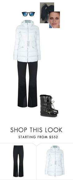 """""""Sem título #7571"""" by gracebeckett on Polyvore featuring moda, Moncler, Blumarine e Oliver Peoples"""