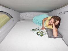Aufstelldach - Schlafdach Lesen - Chillen - Relaxen - Schlafen usw. VW Camper Bus