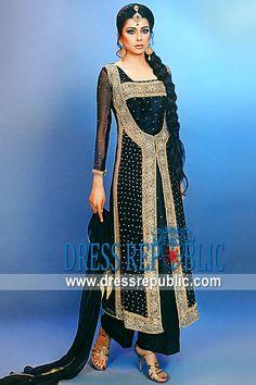 Black Victor, Product code: DR8729, by www.dressrepublic.com - Keywords: Shalwar Kameez for Ramadan 2012, Salwar Kameez Ramadan Sale, Online Shop USA