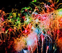 Inspiring picture colour, fireworks, lights, night, sky. Resolution: 500x336. Find the picture to your taste!
