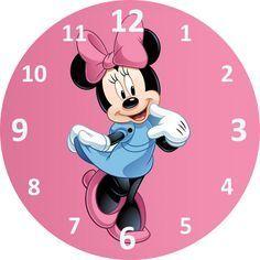 Clock Art, Diy Clock, Clock Face Printable, Mickey Mouse, Clock Template, Shabby Chic Clock, Record Crafts, Fancy Watches, Unusual Clocks