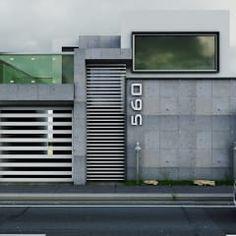 Propuesta de Fachada 1: Casas de estilo moderno por Modulor Arquitectura