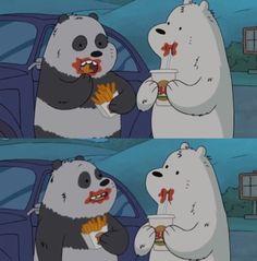 We bare bears We Bare Bears Wallpapers, Cute Wallpapers, Bear Wallpaper, Cartoon Wallpaper, Bff, We Bear, Cute Illustration, Cartoon Network, Polar Bear