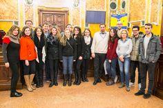 25 Febbraio: Benvenuto in Municipio agli studenti del Boston College, in città per uno scambio culturale con l'Università degli Studi di Parma e la società Dante Alighieri