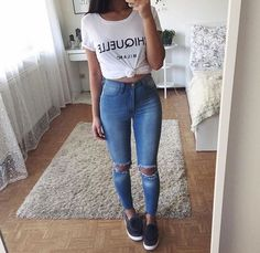 jeans, fashion, and outfit image #Accessoriesteenscasual
