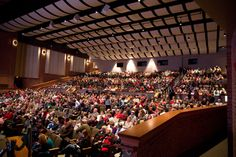 A shot of the crowd at the K-LOVE Christmas Tour in Indianapolis. #KLOVEChristmas #KLOVEIndy