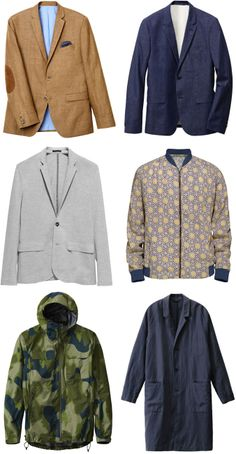 H&M Menswear Summer 2014 Collection - Key Blazers and Outerwear