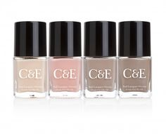 Crabtree & Evelyn's new Nud-est Nail Polish Collection is perfect for office manis