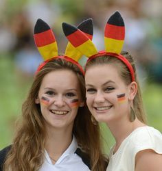 Suporter Prancis vs Jerman