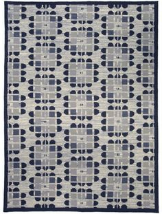 Such a unique and gorgeous pattern on this rug. | Doris Leslie Blau