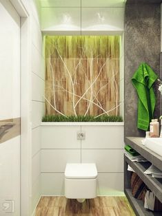 Bathroom Design Ideas South Africa idea for a small, but nature-inspired modern bathroom. small green