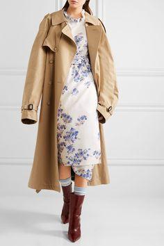 Vetements | + Reebok intarsia stretch cotton-blend socks | NET-A-PORTER.COM
