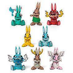 Chaos Bunny Blind Box Figures | ThinkGeek