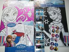 Disney Frozen Anna & Elsa Coloring Sheets with Markers + One Frozen Coloring Paint Set-bundle of 3 Plus 2 Free Strips of Frozen Stickers Disney http://www.amazon.com/dp/B00QVYW7X2/ref=cm_sw_r_pi_dp_TVGIub10YKYWE