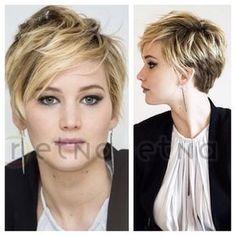 short hair jlaw                                                                              LOVE IT!!!