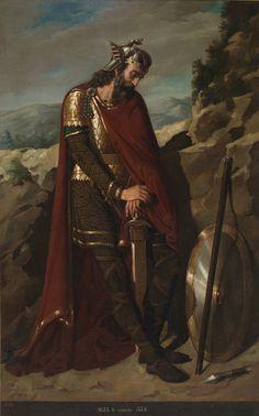 Agila, rey godo, de Dioscoro Puebla Tolín.