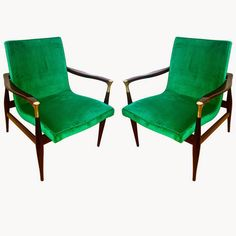 50s+Arm+Chairs+w+Brass+detail+from+Galerie+Andre+Hayat+1stDibs.jpg (768×768)