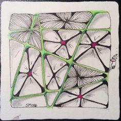 String #003 (Tanglepatterns.com)  Patterns: `Nzeppel Random                                     Florez