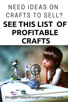 35 Crafty Things to Make and Sell For Profit - Struggle Today Strength Tomorrow Make Easy Money, Crafts To Make And Sell, Make Money From Home, Living On A Budget, Baby Hair Bows, Extreme Couponing, Early Retirement, Craft Business, Finance Tips