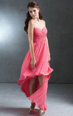 Elegant A-line Floor-length Dresses for Bridesmaid