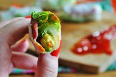 Be Gluten Free - Brighton : Bacon & Avocado Spring Rolls Recipe
