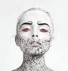 zwart wit makeup - Google zoeken