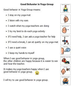 Using Visual Supports in Yoga Groups for Kids & Teens - being inclusive of learning styles