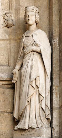 St. Isabelle of France. Feast: February 26 (d. 1270) Sister of St. Louis of France.