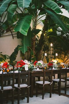 Riviera Maya wedding #reception | Photography: Emily Blake Photography - emilyblakephoto.com  Read More: http://www.stylemepretty.com/2014/04/24/glamorous-riviera-maya-destination-wedding/