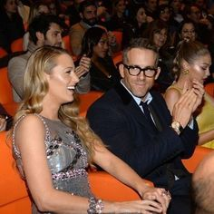"""Gigi Hadid, Ryan Reynolds and Blake Lively attended the premiere of the film """"All I See Is You"""" at the Whitby Hotel in New York. Blake And Ryan, Blake Lively Ryan Reynolds, Blake Lively Family, Blake Lively Style, Bad Breakup, The Way He Looks, Star Crossed, Gigi Hadid, Cute Couples"""