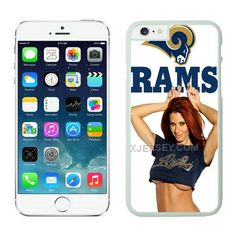 http://www.xjersey.com/stlouis-rams-iphone-6-plus-cases-white3.html ST.LOUIS RAMS IPHONE 6 PLUS CASES WHITE3 Only $21.00 , Free Shipping!
