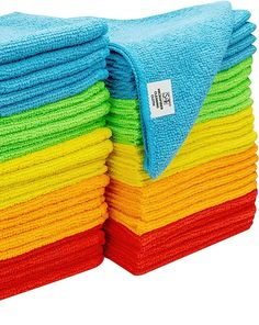 (This is an affiliate pin) 968601 Assorted Microfiber Cleaning Cloth