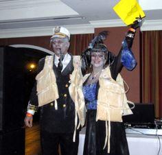 Titanic Hallowe'en costume. Halloween Kostüm, Halloween Outfits, Halloween Costumes, Party Costumes, Titanic Costume, Eve Costume, Cool Costumes, Amazing Costumes, Halloween Kleidung