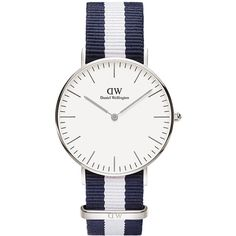 Daniel Wellington Classic Glasgow 36 Mm Watch ($190) ❤ liked on Polyvore featuring men's fashion, men's jewelry, men's watches, accessories, men, watches, mens analog watches and mens watches jewelry