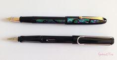 Review Namiki Yukari Nightline Moonlight Fountain Pen @CouronneDuComte (9)