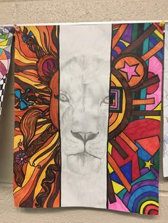 Three Types of art - abstract, non-objective, realism - middle school blog