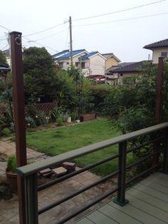タープを張る柱を建てる : 行き当たりばったりガーデン Deck, Outdoor Decor, House, Home Decor, Home, Front Porch, Haus, Decks, Interior Design