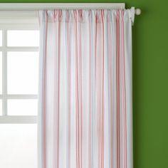 pink+stripe+curtain   Pink Multi Stripe Curtains - Curtain Panel (Stripe) 44 x 63h (Sold ...